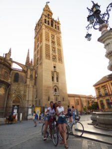 Seebybike tour Sevilla GIRALDA