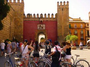 Seebybike tours Sevilla (Puerta del Leon)