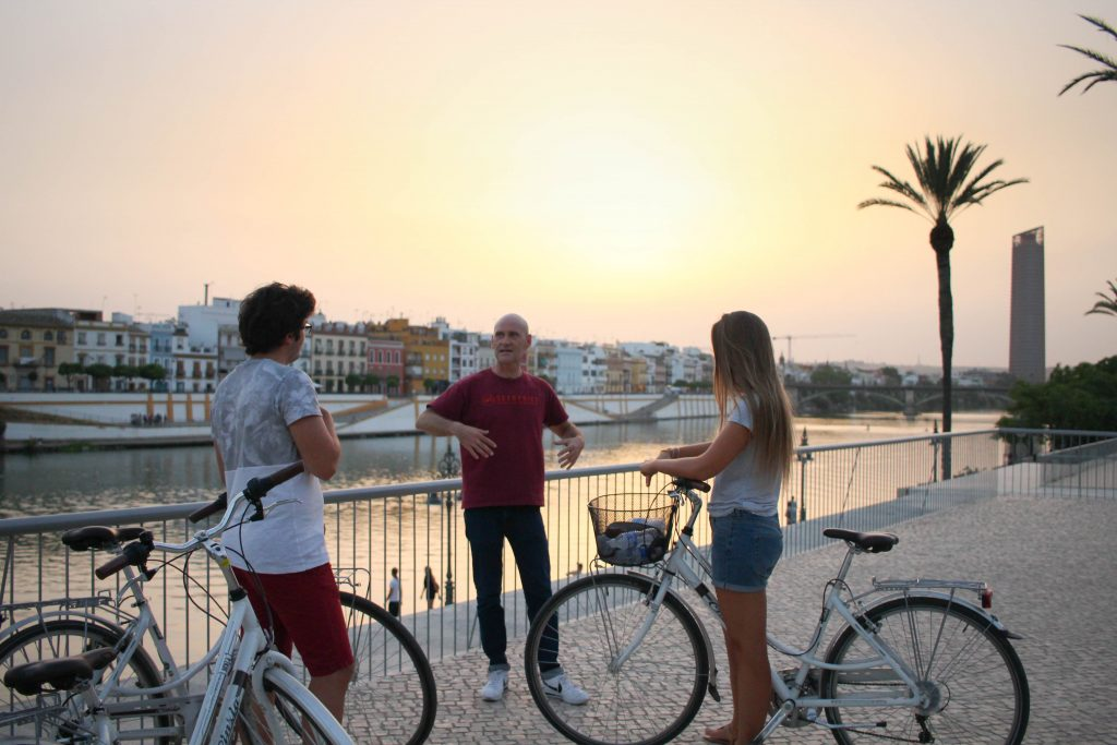 The best sunset views on the shores of the River Guadalquivir.