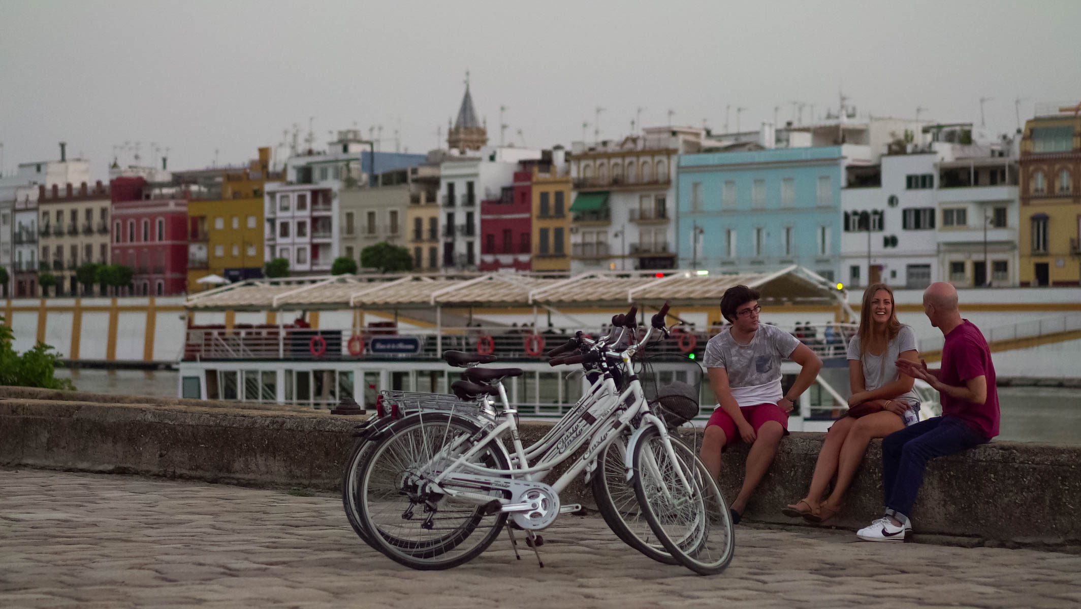 Sevilla's big river: Guadalquivir