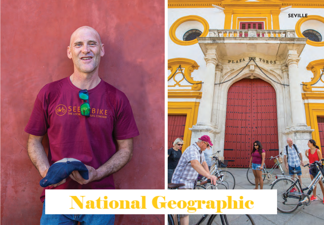 Seebybike in National Geographic Traveller magazine