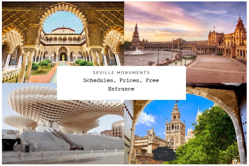 Monumets Seville Schedules