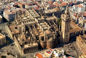 Cathedral of Seville. Aerial View