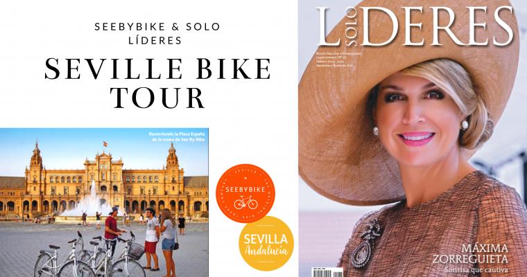 SeeByBike & Sólo Líderes in a special Seville BIKE TOUR